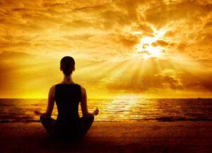 how do meditation in hindi