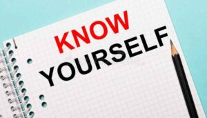 Know yourself meaning in hindi